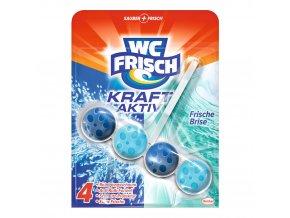WC frisch Kraft Aktiv Frische Brise závěsný blok 50g