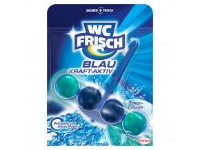 WC frisch Blau Kraft Aktiv Ozean Frische závěsný blok 50g