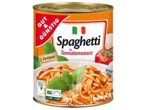 G&G Špagety s rajčatovou omáčkou 800g