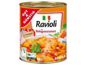 G&G Ravioli v boloňské omáčce 800g