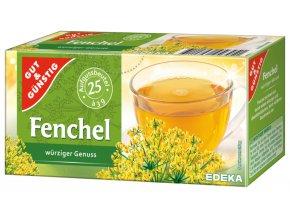 G&G Fenyklový  bylinný čaj 25 sáčků, 75g