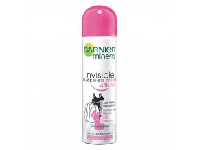 Garnier Mineral Invisible Black & White deospray Woman 150 ml
