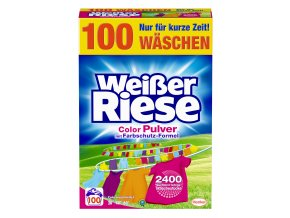 Weisser Riese Intensiv Color 100 praní, 5,5 Kg