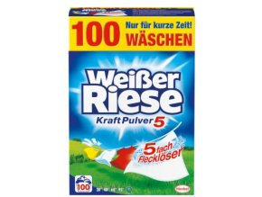 Weisser Riese KraftPulver (univerzální) 100 praní 5,5 Kg