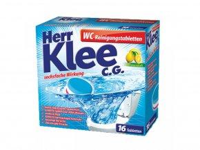 Klee WC Tablety na odstranění vodního kamene 16ks