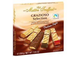 Truffout Grazioso Selection výběr plněných čokoládových tyčinek 200g