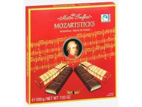 Maitre Truffout Mozartovy tyčinky plněné pistáciovým krémem 200g