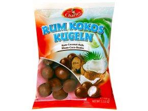 Truffout Čokoládové kuličky s kokosovou náplní a rumem 100g