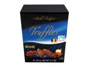 Maitre Truffout Belgické lanýže z mléčné čokolády 145g