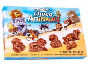 Maitre Truffout Choco Animals čokoládová zvířátka 100g