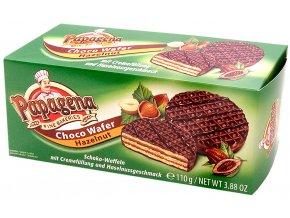 Papagena Čokoládové oplatky s lískooříškovým krémem 110g