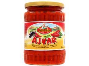 Ivanka Ajvar jemná paprikovo zeleninová omáčka 540g