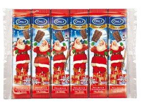 Only Schoko Lolly vánoční lízátka z mléčné čokolády 6 ks, 90g