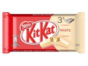 KitKat White oplatky v mléčné čokoládě 3 x 41,5g