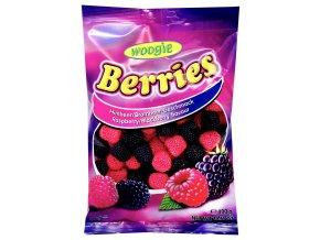 Woogie Berries ovocné želé maliny a ostružiny 400g