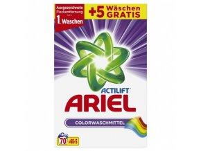 Ariel Actilift Color prací prášek 4,55 kg 70 vyprání