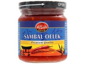 Asia Gold Sambal Oelek chilli pasta 200g