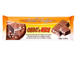 Truffout Choc´n Rice čokoláda s rýžovými křupinkami 150g
