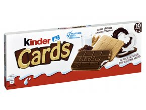 Ferrero Kinder Cards 128g