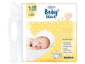 Elkos Premium dětské pleny NEW BORN 2 5 kg 24 ks
