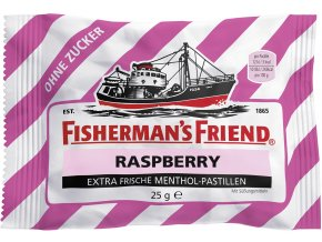Fisherman´s Friend MALINA pastilky bez cukru 25 g