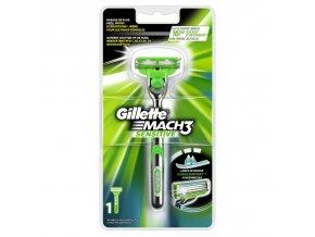 Gillette Mach 3 Sensitive strojek + 1 náhradní hlavice