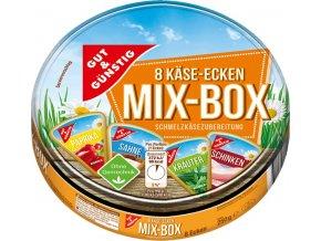 G&G Tavený sýr XXL MIX 4 druhy 8 ks, 250g
