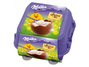Milka velikonoční vajíčka s mléčným krémem 4 ks, 112g