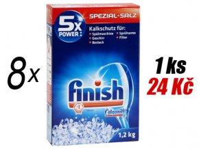 8 x Calgonit Finish speciální sůl do myčky, 9,6 Kg