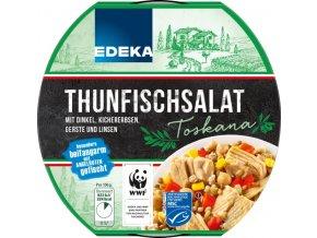 Edeka Tuňákový salát toskánský 210g