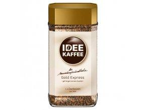 Idee Kaffee Gold Express instant šetrná k zažívání káva 100 g