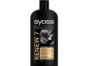 Syoss Renew 7 Complete Repair vlasový šampon pro poškozené vlasy 500 ml