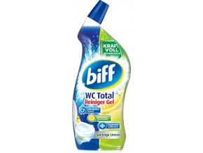 Biff WC Total čistič s vůní citrónu 750ml
