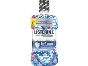 LISTERINE Ústní voda Advanced White Clean Mint 500 ml