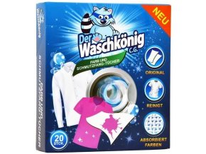 Waschkönig Ubrousky proti zabarvení prádla 20ks