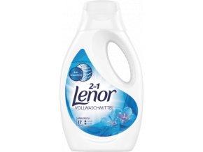 Lenor prací gel Bílá lilie, 17 pracích dávek, 935 ml