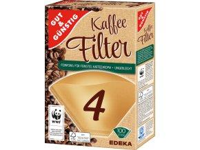 G&G Filtry do kávovarů velikost 4, 100ks