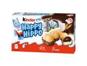 Ferrero Kinder Happy Hippo 5ks, 103,7g