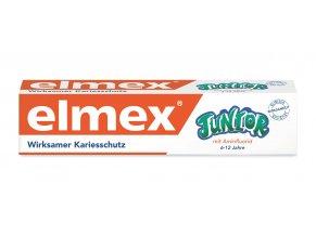 Elmex Junior dětská zubní pasta 6-12 let, 75ml