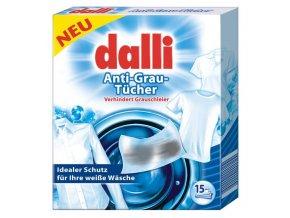 Dalli Ubrousky do pračky pro rozjasnění bílé barvy 15 ks