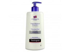 Neutrogena Hloubkově hydratační tělové mléko pro suchou a citlivou pokožku 400 ml