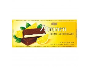 Böhme Krémová čokoláda s přírodní citrónovou náplní 100g