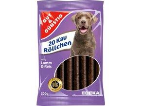 G&G Žvýkací trubičky s jehněčím a rýží 20ks, 200g