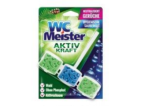 WC Meister závěska do WC lesní vůně 45 g