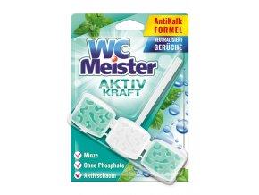 WC Meister Aktiv Kraft Závěsný blok do WC máta 45g
