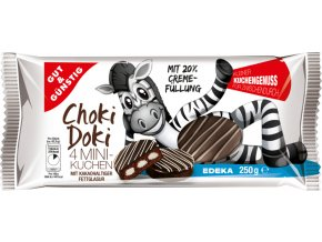 G&G Choki Doki Mini koláčky s krémovou náplní 4 ks, 250g