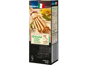 Edeka Grissini italské tyčinky z kynutého těsta 125g