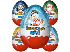 Kinder MAXI čokoládové vajíčko s překvapením 100g