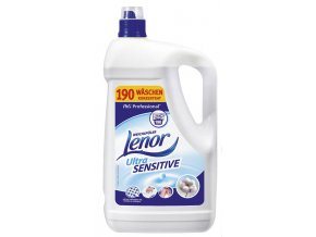 Lenor Professional Ultra Sensitive aviváž 190 praní 4,75 l