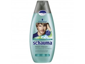Schauma Men Mint Fresh šamponn 400 ml